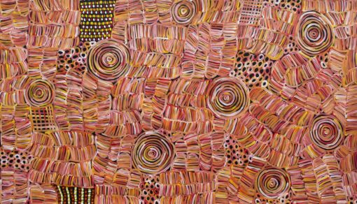 Australian Aboriginal ArtIsts BM690-117x200cm-2650-P