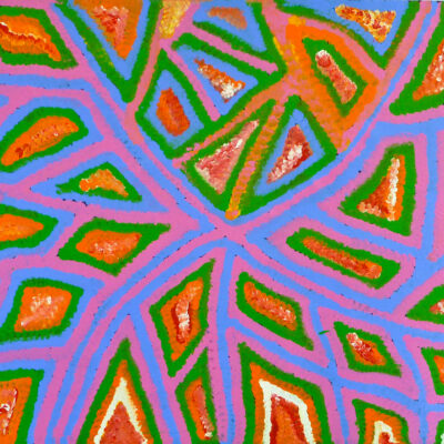 Australian Aboriginal ArtIsts EP476-90x120cm-1250-P