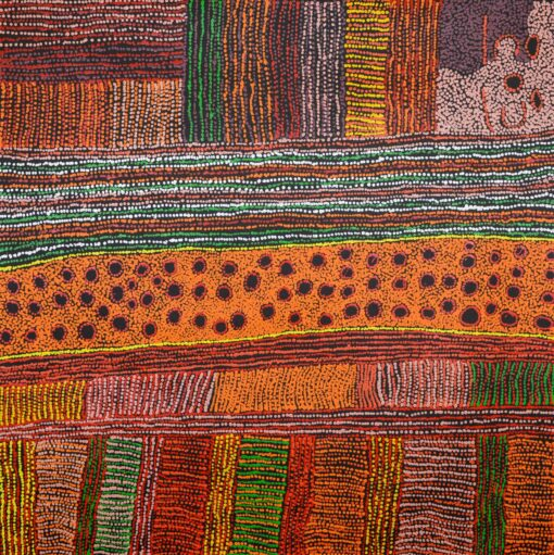 Australian Indigenous Artists MB3298 120x120cm 8750 P