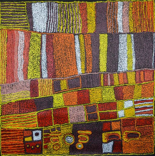 Australian Indigenous Artists MB3500 120x120cm 8350 P